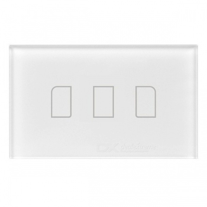 BroadLink TC2 3Gang Intelligent Touch Switch Panel - White (US/AU, AC 170-240V)Home Smart Devices<br>Form  ColorWhite (US/AU, 3Gang, 170-240V)Quantity1 DX.PCM.Model.AttributeModel.UnitMaterialFlame retardant materialsRate VoltageAC 170-240VPower AdapterOthers,US/AUPacking List1 x TC23 x Capacitance2 x Fixed screws1 x User manual in English<br>