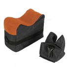 Rifle Gun Front Rear Shooting Bag Sandbag for Hunting Target - Black