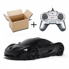 Mini 1:24 4CH Electric Radio Controlled RC Car with Mover Forward / Reverse, Turn Left / Right - Red