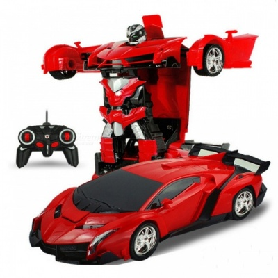2-in-1 4CH Transformation Robots Model Remote Control RC Deformation Car