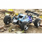 WLtoys A959 2.4G 1:18 Scale Remote Control Off-road Racing Car - Blue (EU Plug)