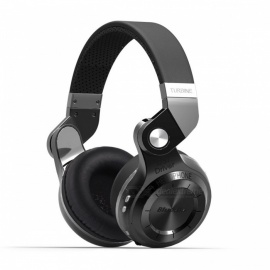 Bluedio T2S Wireless Bluetooth V4.1 Stereo Headphones - Black