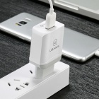USAMS US-CC024 18W QC3.0 Quick Charge Travel Wall Charger - White (EU Plug)