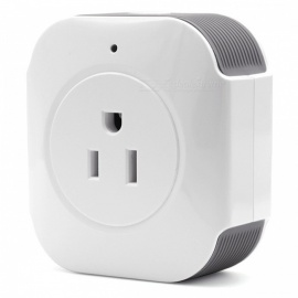 Sonoff S30 Wi-Fi Wireless Remote Control Power Socket Switch - White (US Plug)