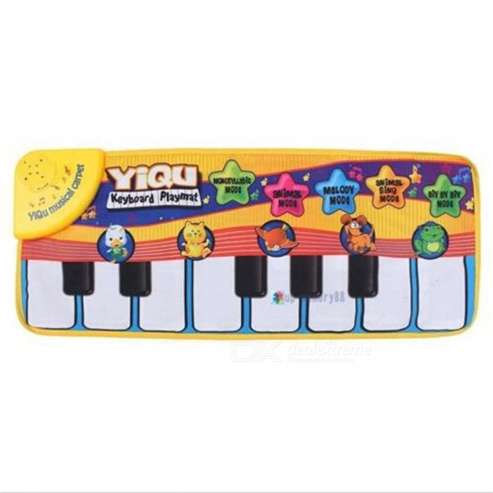 72 x 29cm Piano Music Plat Mat for BabyOther Toys<br>Form  ColorColorfulModelN/AMaterialCardboardQuantity1 DX.PCM.Model.AttributeModel.UnitSuitable Age 6-9 months,9-12 months,13-24 monthsPacking List1 x Music Mat<br>