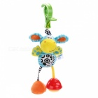 Cute Baby Infant Plush Toy Doll Bed Stroller Wind Chimes Rattles Bell Hanging Toy with Clip Hook - Donkey Style