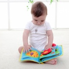 12 Pages Soft Cloth Book for Baby Boys Girls