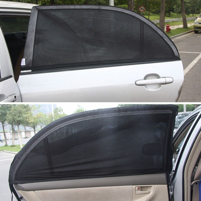 uv protection adjustable car auto side rear window sun shade mesh cover visor shield sunshade. Black Bedroom Furniture Sets. Home Design Ideas
