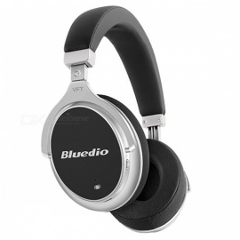 Bluedio F2 Active Noise Cancelling Wireless Bluetooth Headphones - Black
