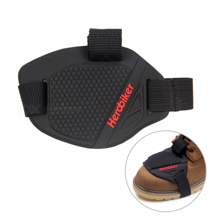 Motorcycle Rubber Lever Gear Shift Pad for Riding, Shoe Boots Protector, Motorbike Boot Cover - BlackOthers<br>Form  ColorBlackSizeOthersModelMXT1001Quantity1 DX.PCM.Model.AttributeModel.UnitMaterialPUShade Of ColorBlackPacking List1 x Motorcycle Gear Shift Pad (not including motorcycle boots)<br>