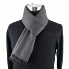 Premium Winter Warm Casual Men's Cashmere Modal Neckercheif Scarf - Gray