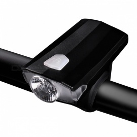 W098 Mini IPX4 Waterproof USB Rechargeable Bicycle Light Headlight, Cycling Lamp - White