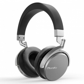 Bluedio Vinyl Premium Sweatproof Wireless Bluetooth Headphone - Grey