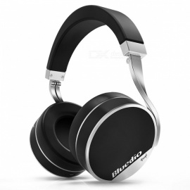 Bluedio Vinyl Plus Light Extravagance Wireless Bluetooth Headphone - Black