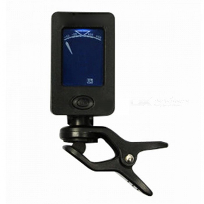 Type A Chromatic Clip-On Digital Tuner for Acoustic Electric Guitar Bass Violin Ukulele