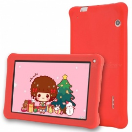 "Aoson M753-S 7"" Kid's Tablet PC Quad-Core Android 6.0 1024x600 IPS, Pre-install Kids Software, 1GB RAM, 16GB ROM - Red"