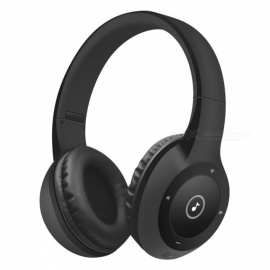 QCY J1 Wireless Bluetooth 3D Stereo Headphones Headset with Microphone - Black