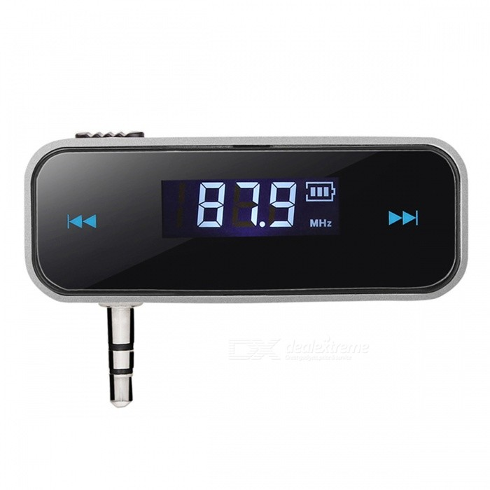 Car FM Transmitter Bluetooth Wireless Audio Device with LCD Display Car Accessories for Smart PhonesFM Transmitters and Players<br>Form  ColorBlackModel-Quantity1 DX.PCM.Model.AttributeModel.UnitMaterialPlasticShade Of ColorBlackFM Frequency Range-FM Transmit Distance5 DX.PCM.Model.AttributeModel.UnitAudio FormatsOthers,-Interface/PortOthers,-External Memory Max. SupportNo DX.PCM.Model.AttributeModel.UnitPower SupplyOthers,- DX.PCM.Model.AttributeModel.UnitPacking List1 x FM Transmitter1 x USB Cable<br>