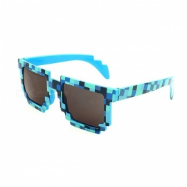 Fashion Minecrafter Sunglasses, Kids' Action Game Toy - Blue
