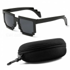 Fashion Minecrafter Sunglasses, Kids' Action Game Toy - Black