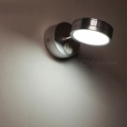 5W 5500-7000K Cold White Light LED Wall Lamp, Mini Mirror Light - Silver