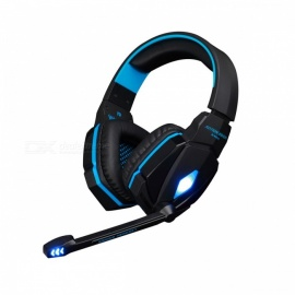 KOTION EACH G4000 Gaming Wired Headphone with Microphone - Blue