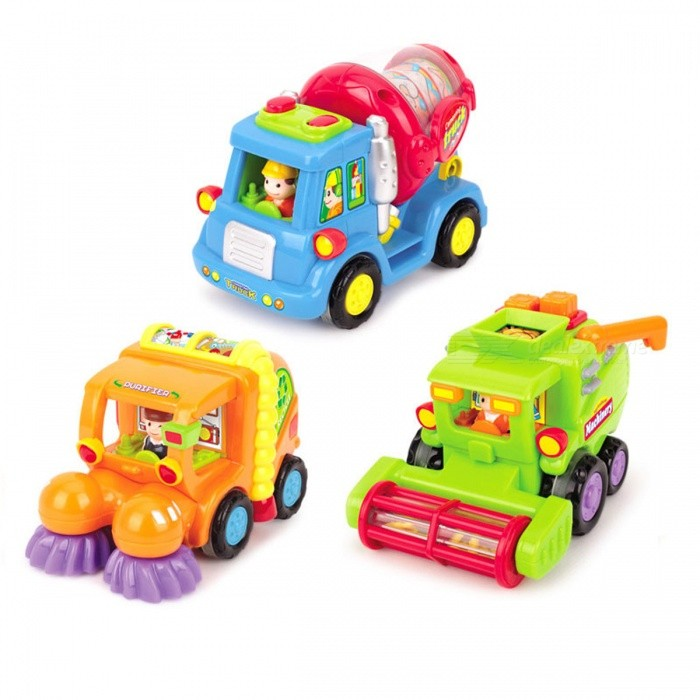 Push and Go Friction Powered Car Toy for Kids Baby (Set of 3)Other Toys<br>Form  ColorColorfulModelN/AMaterialPlasticQuantity1 setSuitable Age 3-4 years,5-7 yearsPacking List3 x Cartoon Cars<br>