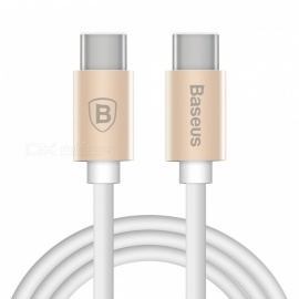Baseus Gather Series Type-C to Type-C Data Sync Charging Cable - Golden