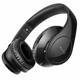 Sound Intone P7 Wireless Bluetooth Headphone with Microphone - Black