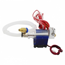 V6 J-head Hotend Bowden Extruder Full Set with Fan, 12V Heater, PTFE Tubing for 0.4mm 1.75mm Bowden, 3D Printer