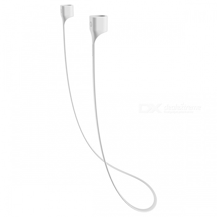Baseus Earphone Strap Magnetic Adsorption Wire Easy to Wear and Anti-Lost - White + GrayHeadphones<br>Form  ColorWhite GrayBrandOthers,BaseusMaterialTPEQuantity1 DX.PCM.Model.AttributeModel.UnitConnection3.5mm WiredBluetooth VersionOthers,-Cable Length60 DX.PCM.Model.AttributeModel.UnitHeadphone StyleIn-Ear,Ear-hookWaterproof LevelOthers,-Applicable ProductsIPHONE 7,IPHONE 7 PLUSHeadphone FeaturesMagnetic Adsorption,PortableSupport Memory CardNoSupport Apt-XNoSensitivity123dBImpedance9 DX.PCM.Model.AttributeModel.UnitPacking List1 x Earphone Strap<br>
