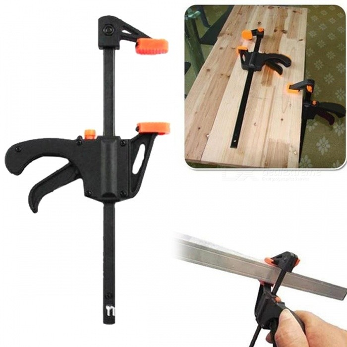 Practical plastic quick release bar clamp woodworking