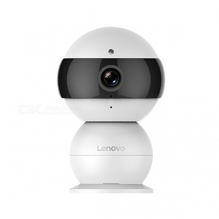 LENOVO Snowman IP Camera 720P HD Mini Security Surveillance System Baby Monitor - US Plug