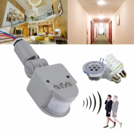 Automatic Infrared PIR Motion Sensor Switch for LED Light - Gray