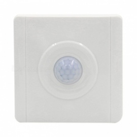 PIR Senser Infrared IR Switch Module, Body Motion Sensor Auto On Off Light Switch - White