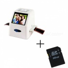 "High Resolution 22MP 110 135 126KPK Super 8 Negative Photo Scanner, 35mm Slide Film Scanner, 2.4"" LCD Digital Film Converter"