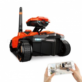 Wi-Fi FPV App Remote Control Spy Tank RC Toy with 0.3MP HD Camera