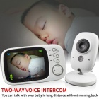 Wireless Digital Video Camera Baby Monitor with 3.2 Inch LCD Display - US Plug