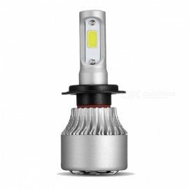 New H7 COB LED Headlight 72W 8000LM Car Fog Light Bulb 6500K 12V Headlamp