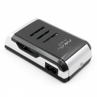 4-Slot Smart Intelligent Battery Charger with LCD Display for AA / AAA NiCd NiMh Rechargeable Battery (UK Plug)