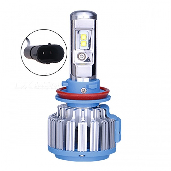 H11 H8 H9 Replacement Car LED Headlight Headlamp Light BulbHeadlights<br>Form  ColorH11 H8 H9Model-Quantity1 DX.PCM.Model.AttributeModel.UnitMaterialAluminumPower40 DX.PCM.Model.AttributeModel.UnitWorking Voltage12VConnectorOthers,H11 H8 H9Bulb SpecificationLEDBrightness3500LMColor BIN6000K Cool whiteApplicationHigh Beam Lamp,Low Beam LampPacking List1 x Bulb<br>