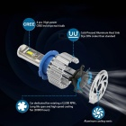 Super Bright H7 LED Light Bulb Auto Car Headlight 70W 8000lm 12V Fog Lamp - 2PCS