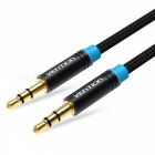Vention Aux Cable 3.5mm Male to Male Audio Cable - Black (100CM)