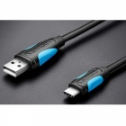 Vention USB 3.1 Type-C Cable Fast Charge Charging Data Cable - Black (100CM)