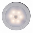 Magnetic Infrared IR Bright Motion Sensor Activated LED Wall Night Light with Auto On/Off - Warm White Light