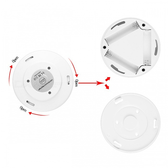 magnetic infrared ir bright motion sensor activated led