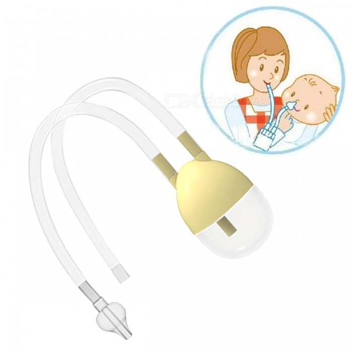 New Born Baby Safety Nose Cleaner, Vacuum Suction Nasal AspiratorPersonal Care<br>Form  ColorAs ShowMaterialPP+Silicone+ABSQuantity1 DX.PCM.Model.AttributeModel.UnitAge0-3 monthsCertificationN/APacking List1 x Nose cleaner<br>