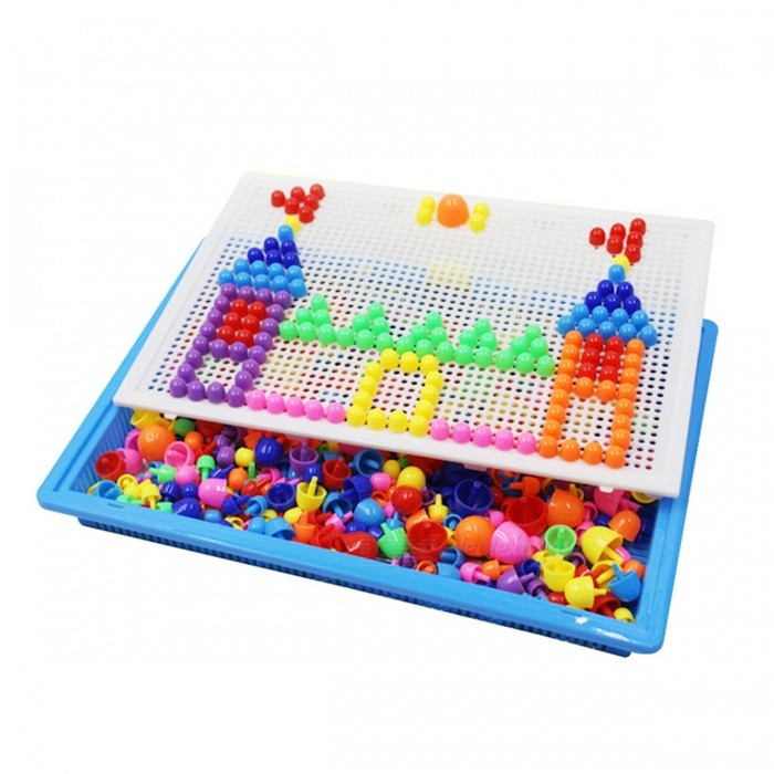 296Pcs Mosaic Picture Puzzle Intellectual Toy for ChildrenBlocks &amp; Jigsaw Toys<br>Form  ColorColorfulModelN/AMaterialPlasticQuantity1 DX.PCM.Model.AttributeModel.UnitNumber296PcsSuitable Age 3-4 years,5-7 years,8-11 yearsPacking List1 x Puzzle Toy Kit<br>