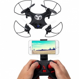 Dwi X3 Mini RC Quadcopter Drone with HD Camera App WiFi Phone Control Live Video Nano Helicopter Toys Gift Black