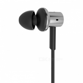 Original Xiaomi Hybrid Pro HD In-Ear Earphones with Microphone for Xiaomi Mi6 MIX 5C Redmi 4 4X Smartphones Silver Hybrid